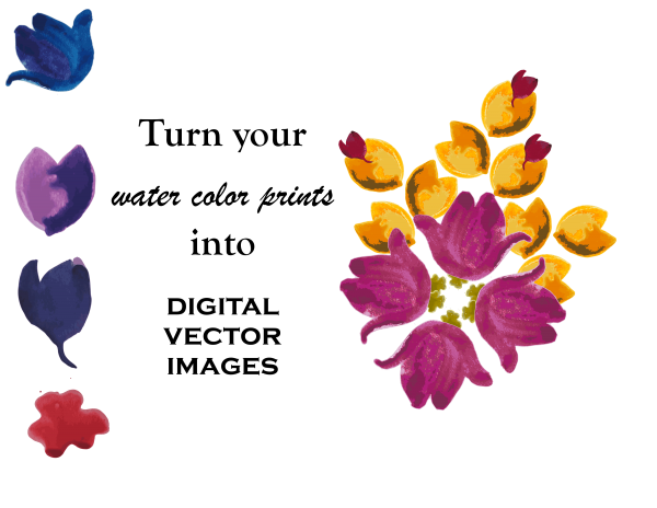 How To Vectorize a Watercolor Image using Affinity Designer